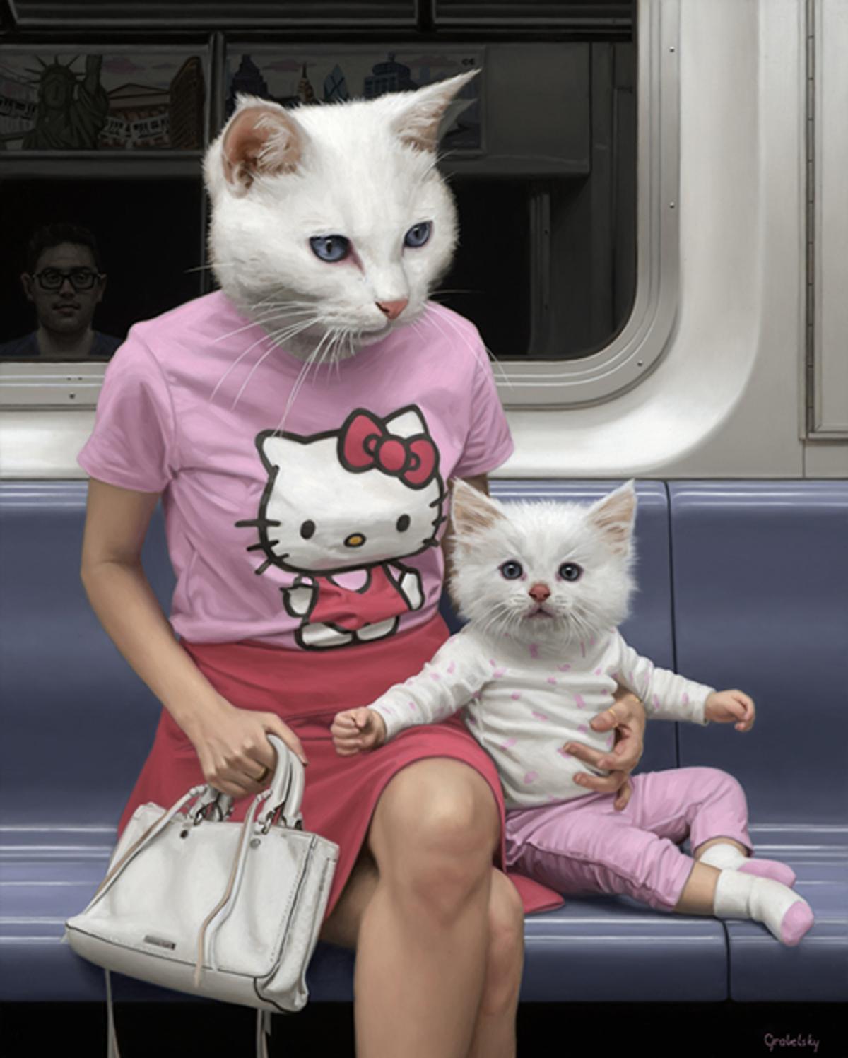 Kedi Kadın Metro